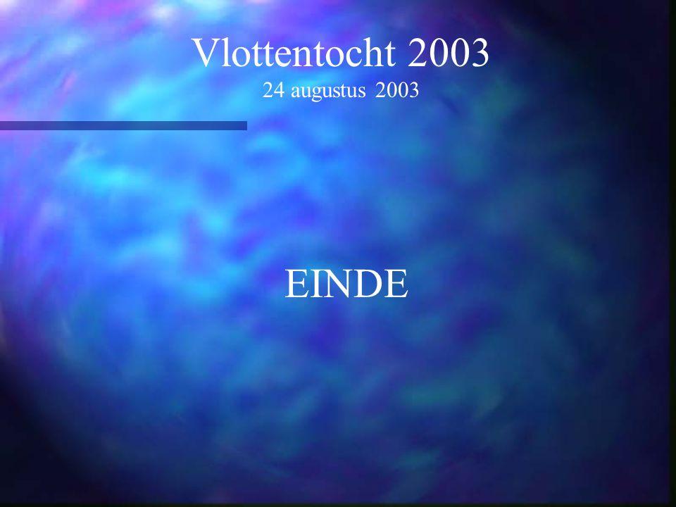 Vlottentocht 2003 24 augustus 2003 EINDE