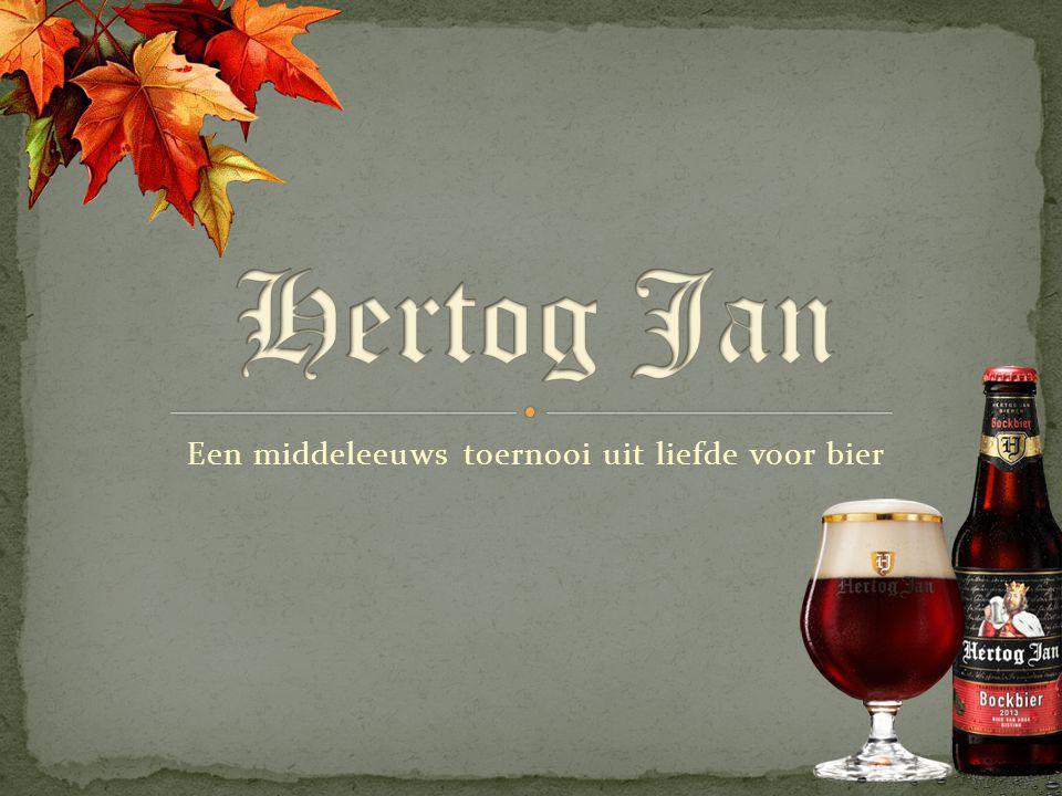 Een middeleeuws toernooi uit liefde voor bier