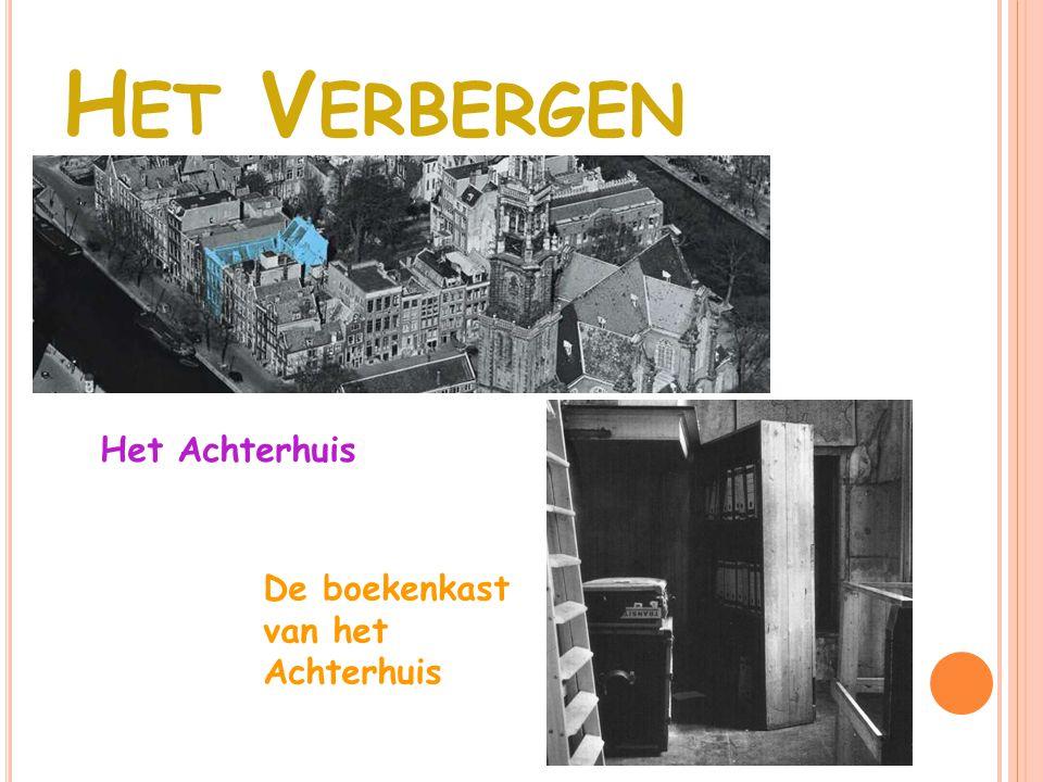 D E MENSEN IN HET A CHTERHUIS Van Pels kamer Anne Frank ' s kamer