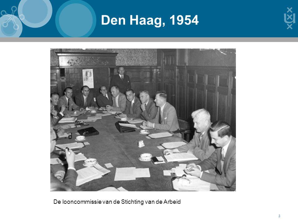 Den Haag, 1954 3 De looncommissie van de Stichting van de Arbeid