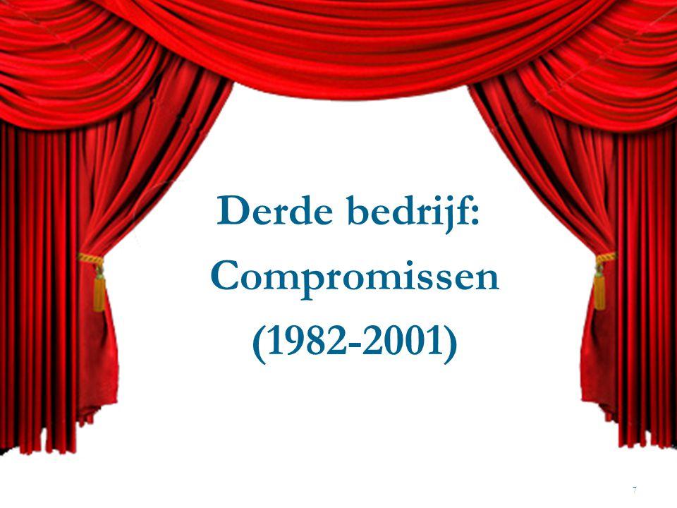 Wassenaar, november 1982 8 Chris van Veen (VNO) en Wim Kok (FNV)