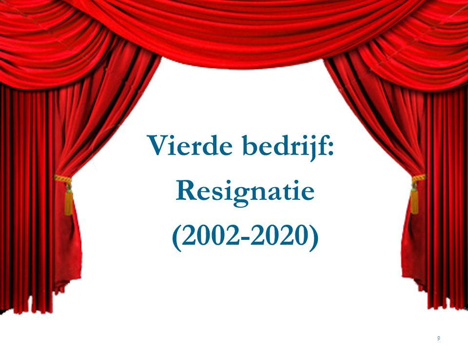 Den Haag, 18 mei 2004 en 10 juni 2011 10 Overleg over het VPL-dossier: De Geus en De Waal Pensioenakkoord: Jongerius, Kamp en Wientjes