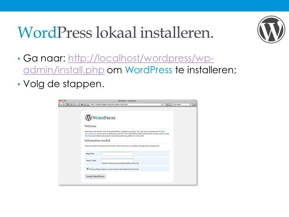 WordPress Dashboard.