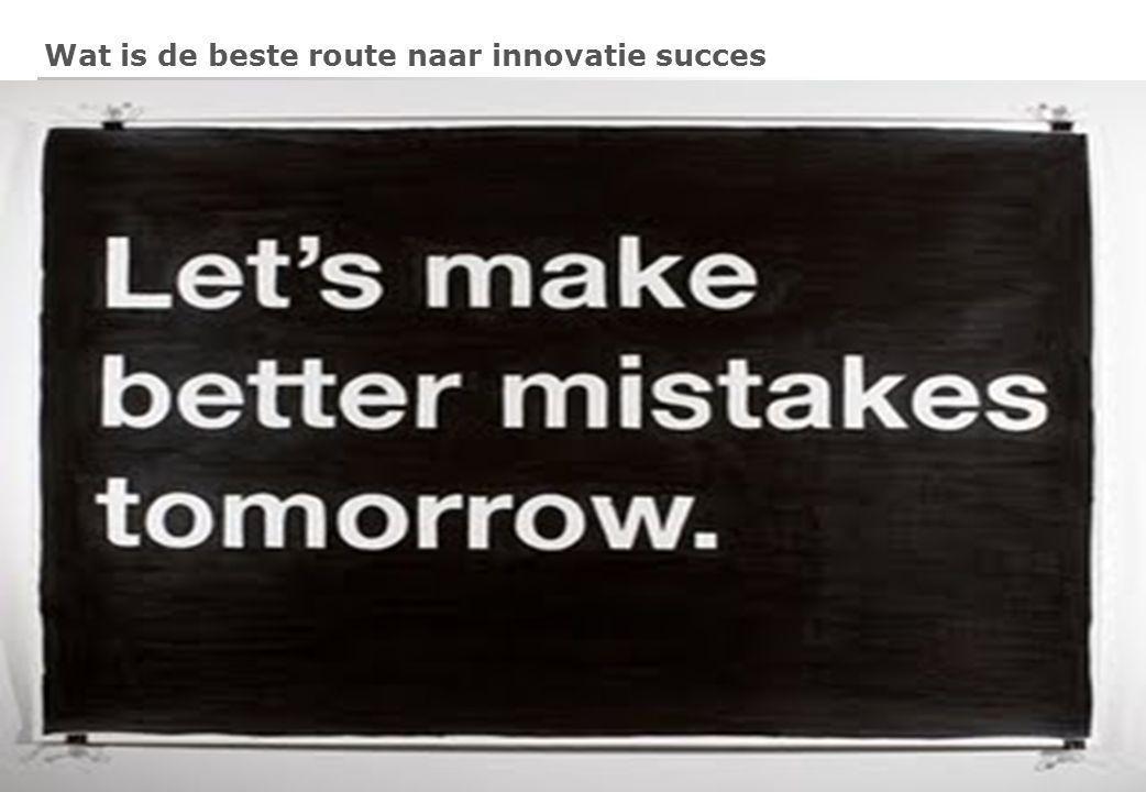 5 Wat is de beste route naar innovatie succes