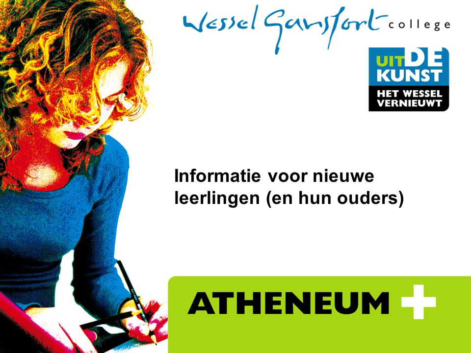 Informatie voor nieuwe leerlingen (en hun ouders)