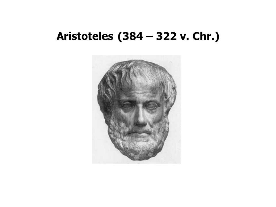 Aristoteles Streven naar goede leven (eudaimonia) Morele deugd (karakterdeugd) is gulden middenweg tussen twee extremen of kwaden: –overmoed – moed – lafheid –gierigheid – vrijgevigheid – verkwisting Verstandigheid (intellectuele deugd) bepaald de gulden middenweg.