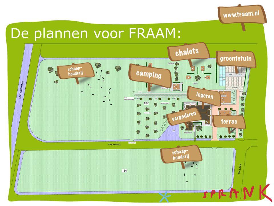 De plannen voor FRAAM: