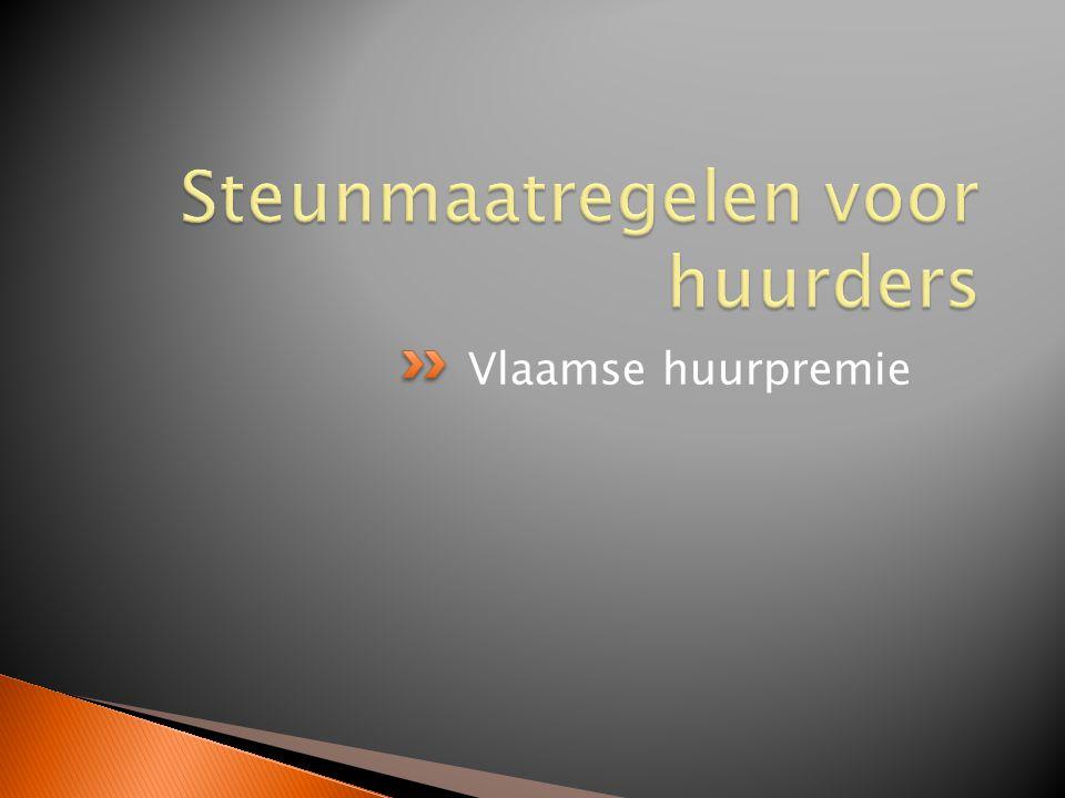 Vlaamse huurpremie