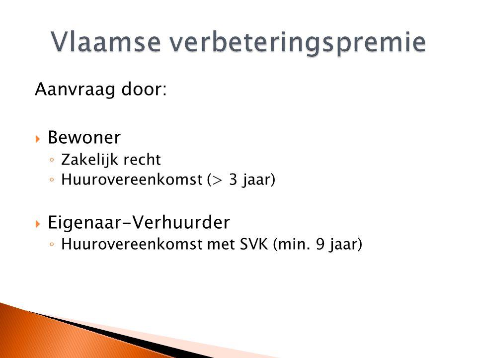 Mogelijke steunmaatregelen:  Huursubsidie  Verminderde onroerende voorheffing  Tussenkomst in de huurwaarborg  Sociale huurwoning  Vlaamse huurpremie