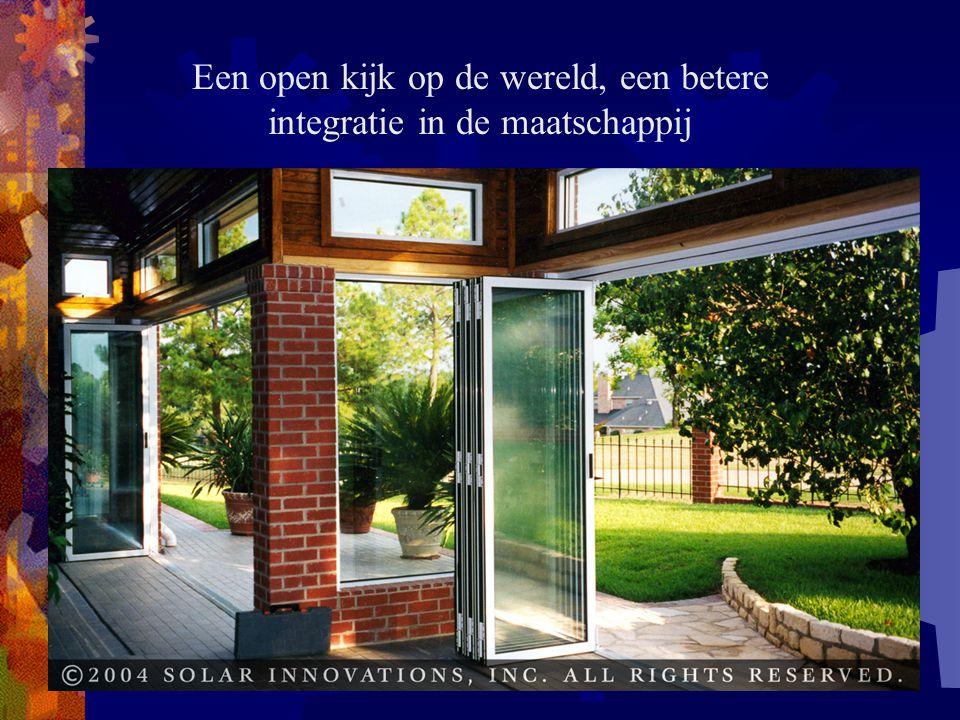 Een open kijk op de wereld, een betere integratie in de maatschappij