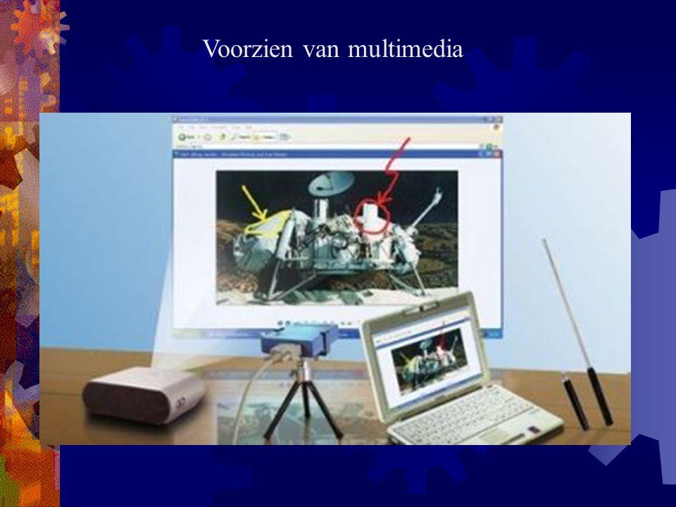 Voorzien van multimedia