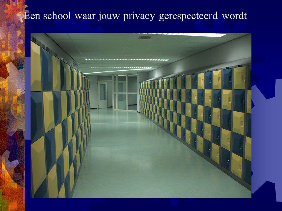 Een school waar jouw privacy gerespecteerd wordt