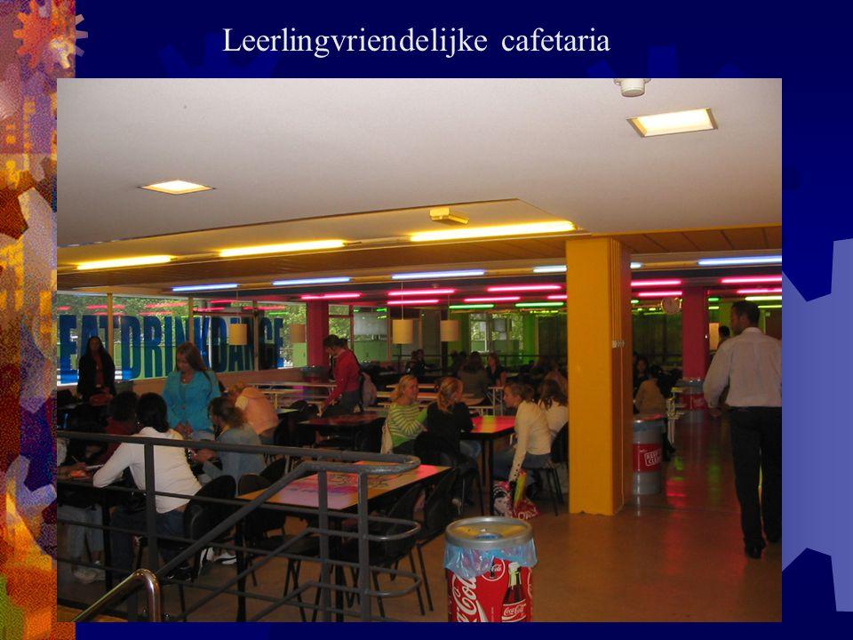 Leerlingvriendelijke cafetaria