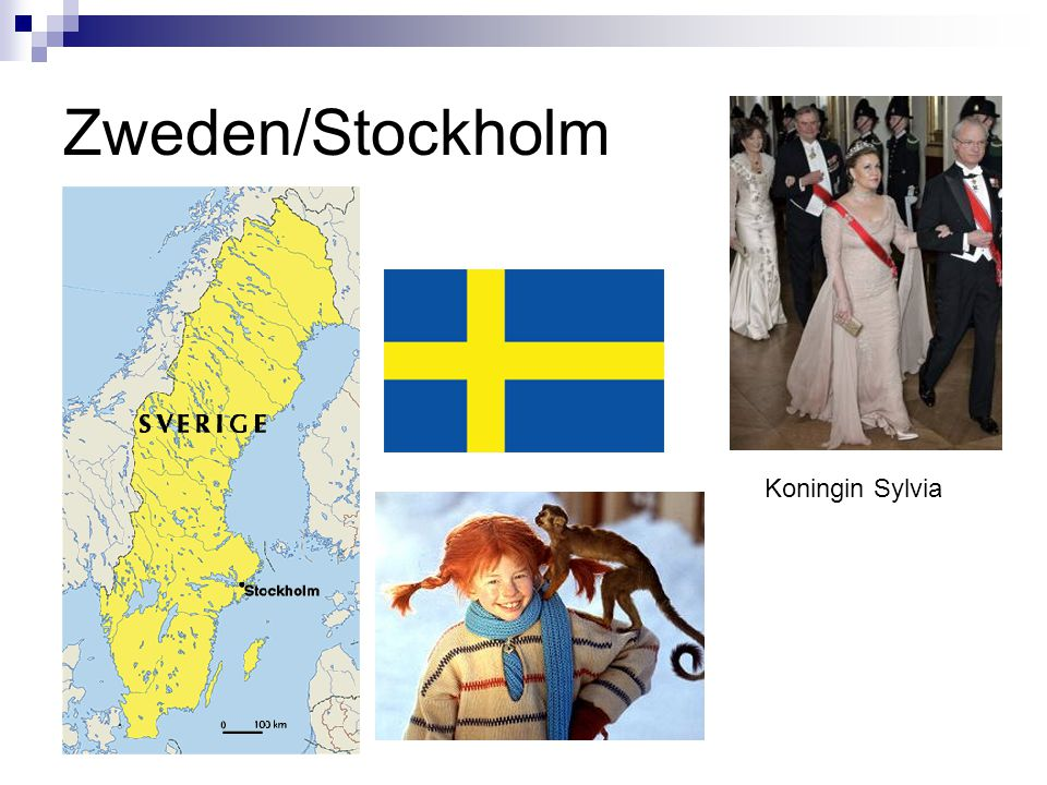 Zweden/Stockholm Koningin Sylvia