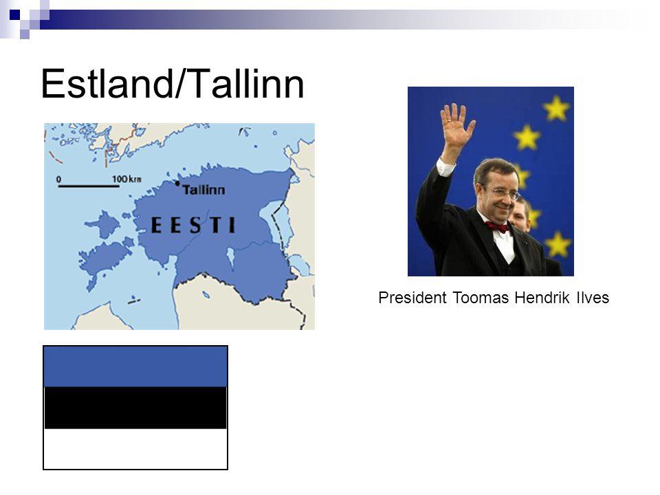 Estland/Tallinn President Toomas Hendrik Ilves