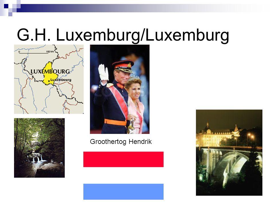 G.H. Luxemburg/Luxemburg Groothertog Hendrik