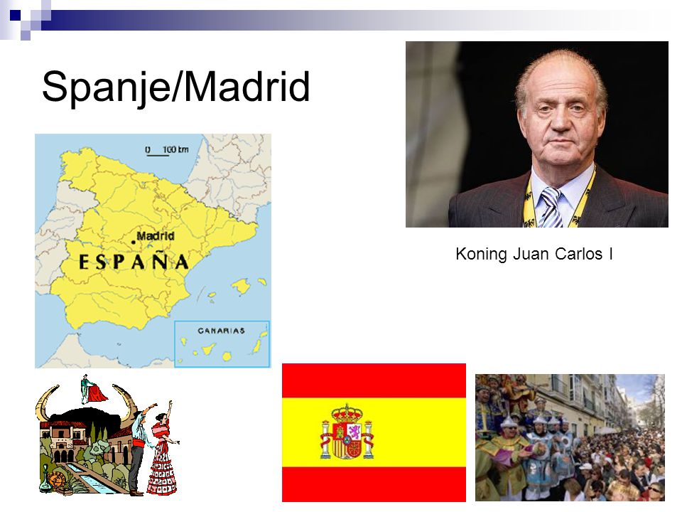 Spanje/Madrid Koning Juan Carlos I