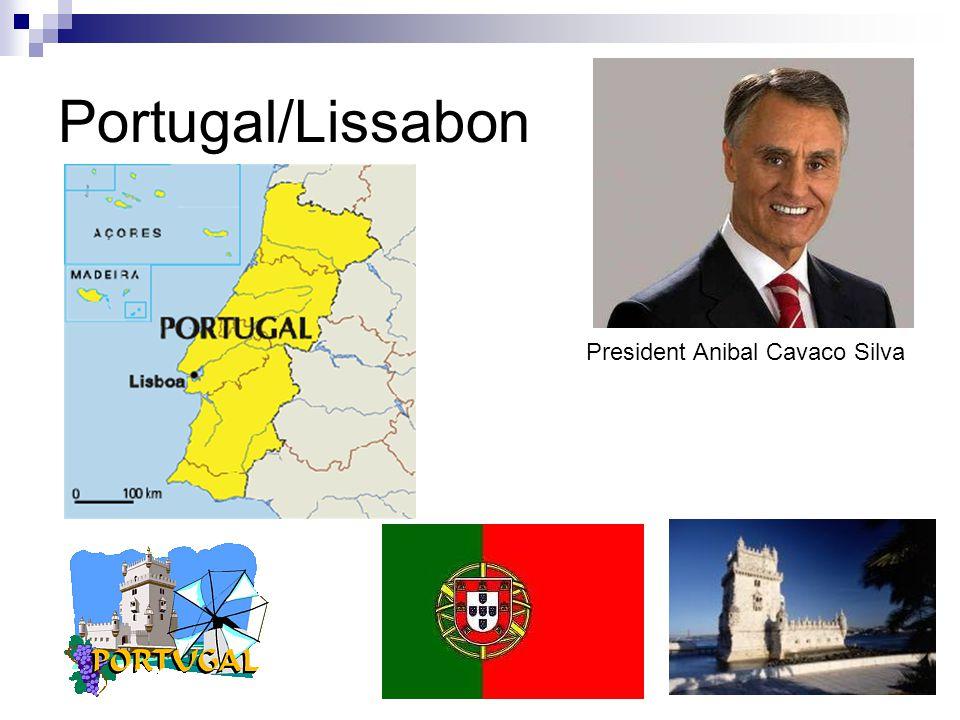 Portugal/Lissabon President Anibal Cavaco Silva