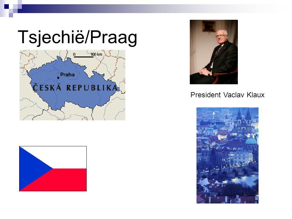 Tsjechië/Praag President Vaclav Klaux
