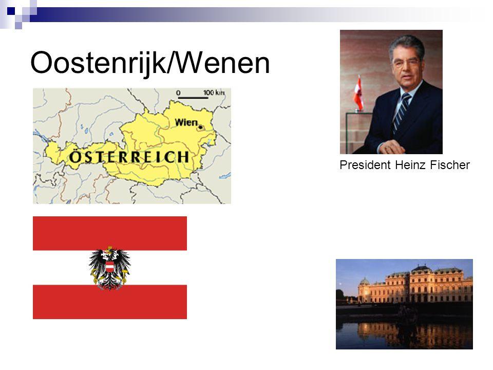 Oostenrijk/Wenen President Heinz Fischer