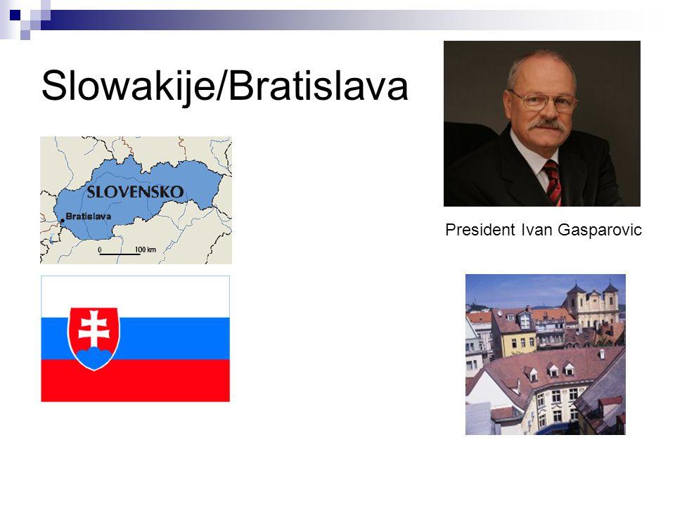 Slowakije/Bratislava President Ivan Gasparovic