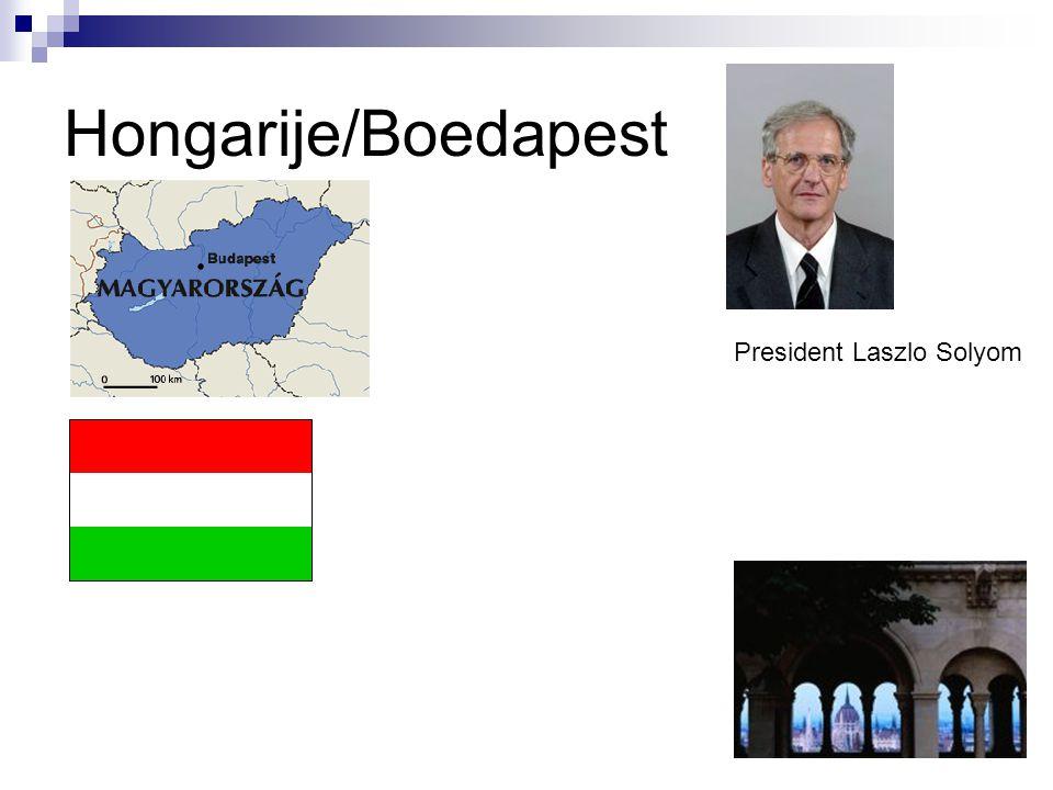 Hongarije/Boedapest President Laszlo Solyom