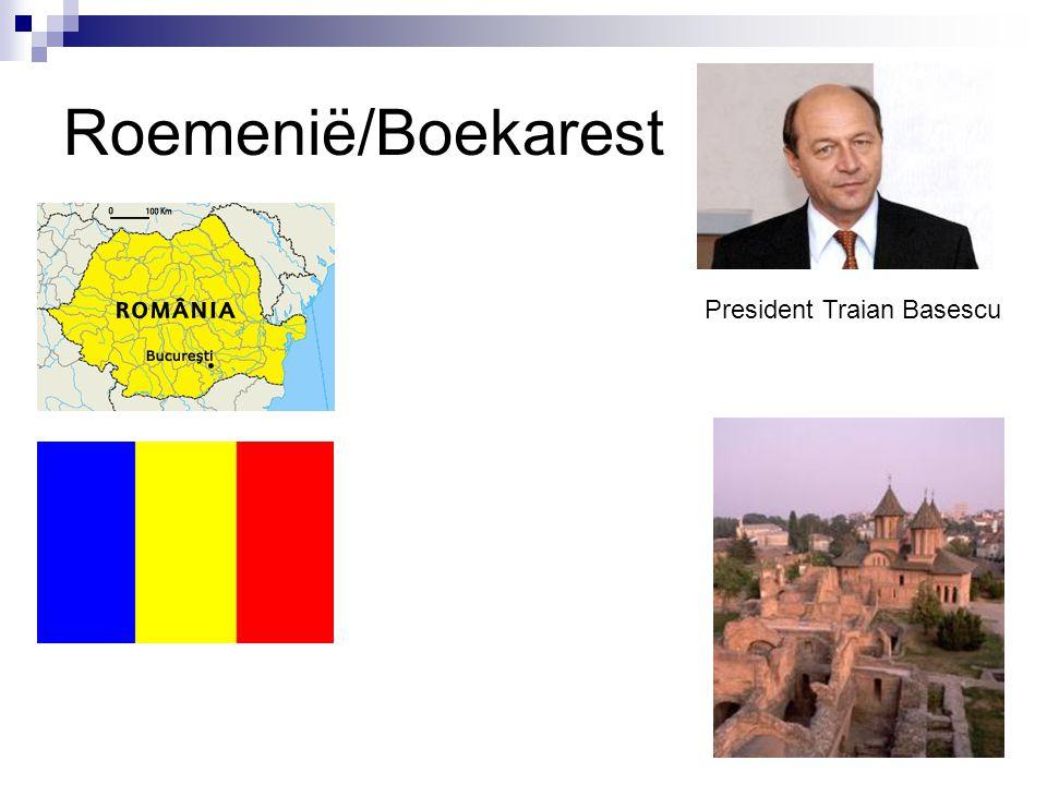 Roemenië/Boekarest President Traian Basescu