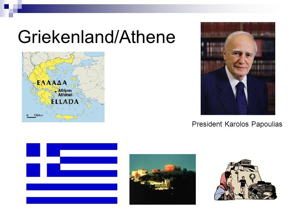 Griekenland/Athene President Karolos Papoulias