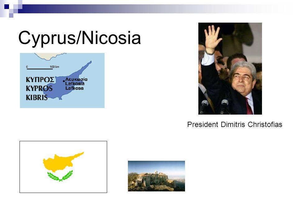 Cyprus/Nicosia President Dimitris Christofias
