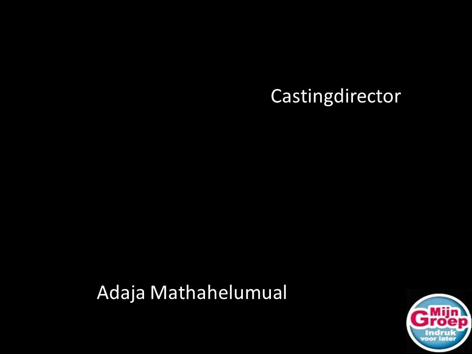 Adaja Mathahelumual Castingdirector