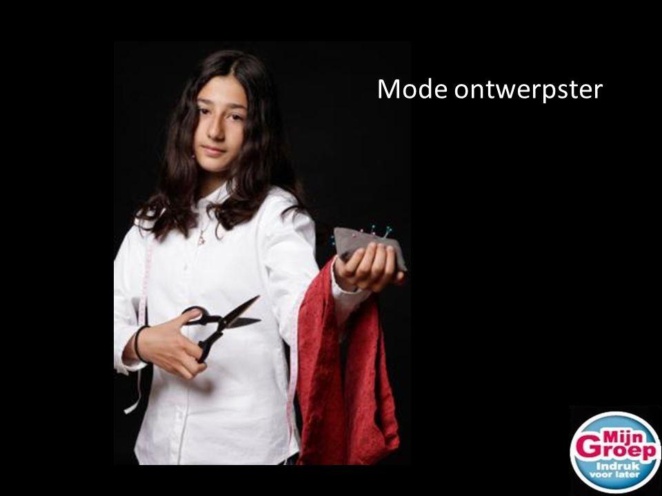 Mode ontwerpster