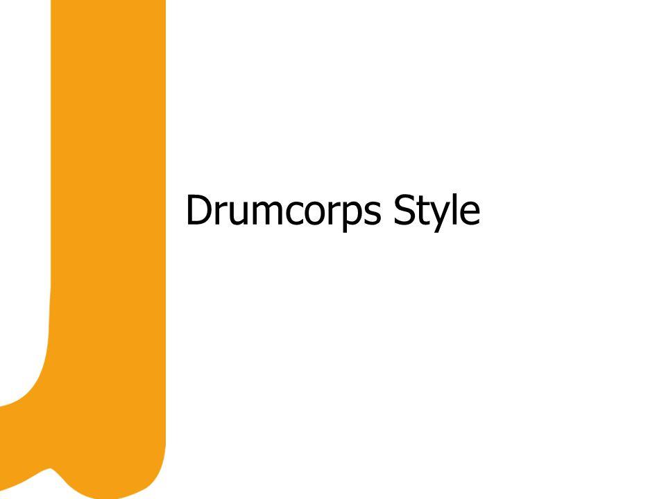 Drumcorps Style