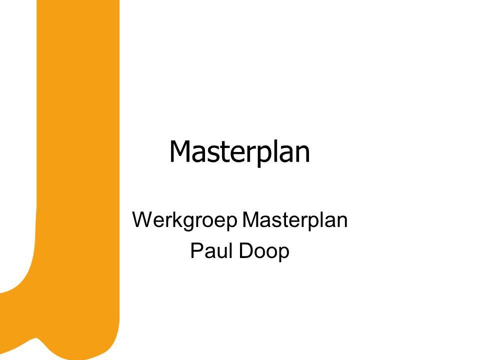 Masterplan Werkgroep Masterplan Paul Doop