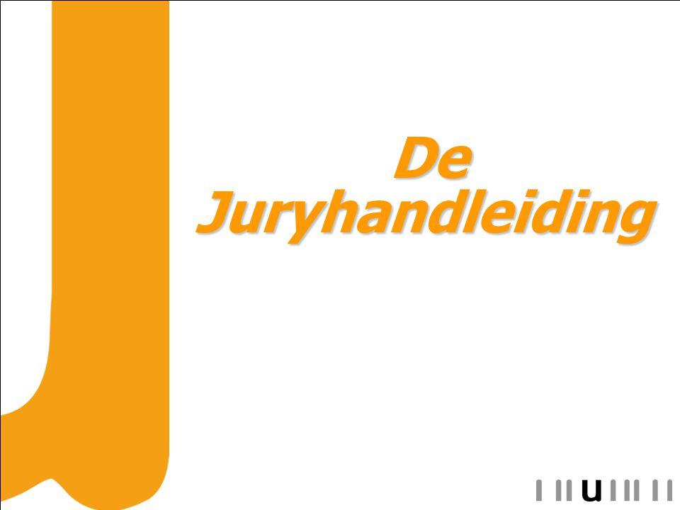 De Juryhandleiding De Juryhandleiding