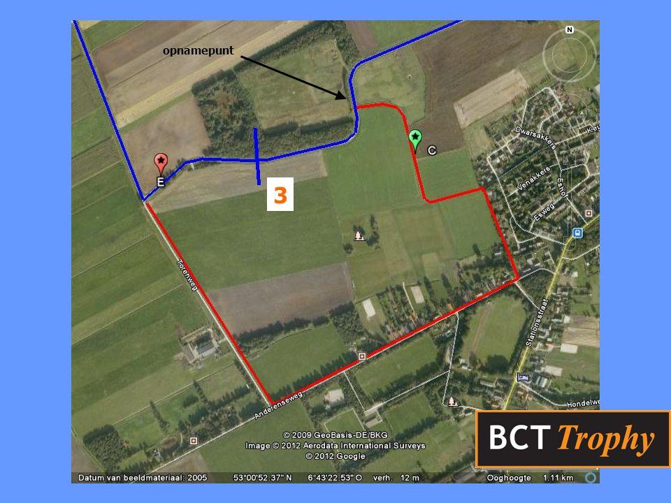 Informatie komende Trophy 13.30 start Sport traject 3, T-systeem 13.30 start Toer traject 2, Visgraat niet missen.