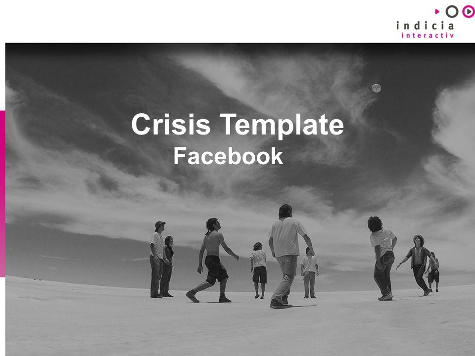 Crisis Template Facebook