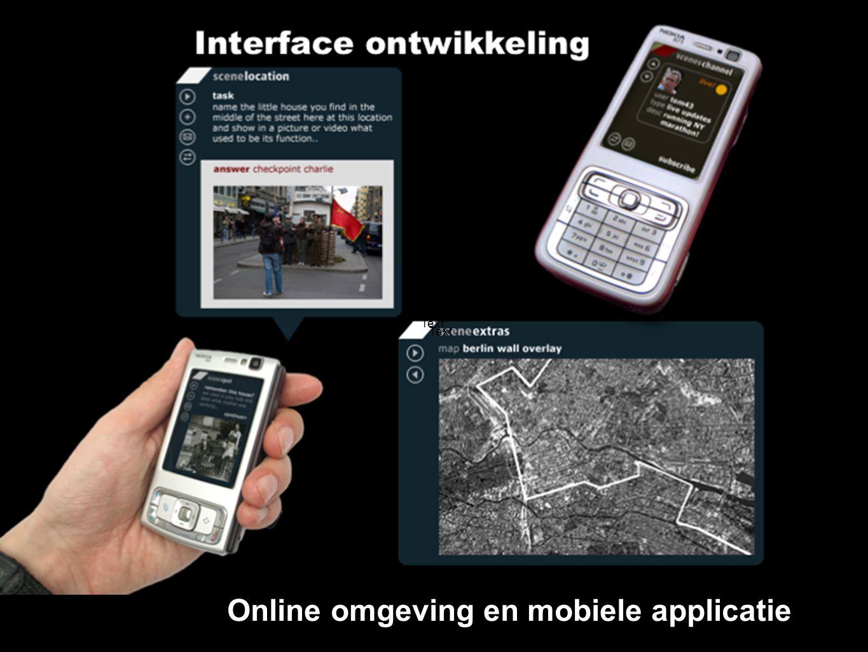 Text Online omgeving en mobiele applicatie