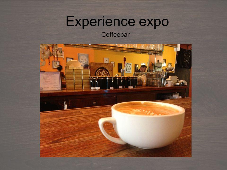 Debriefing Experience expo Coffeebar