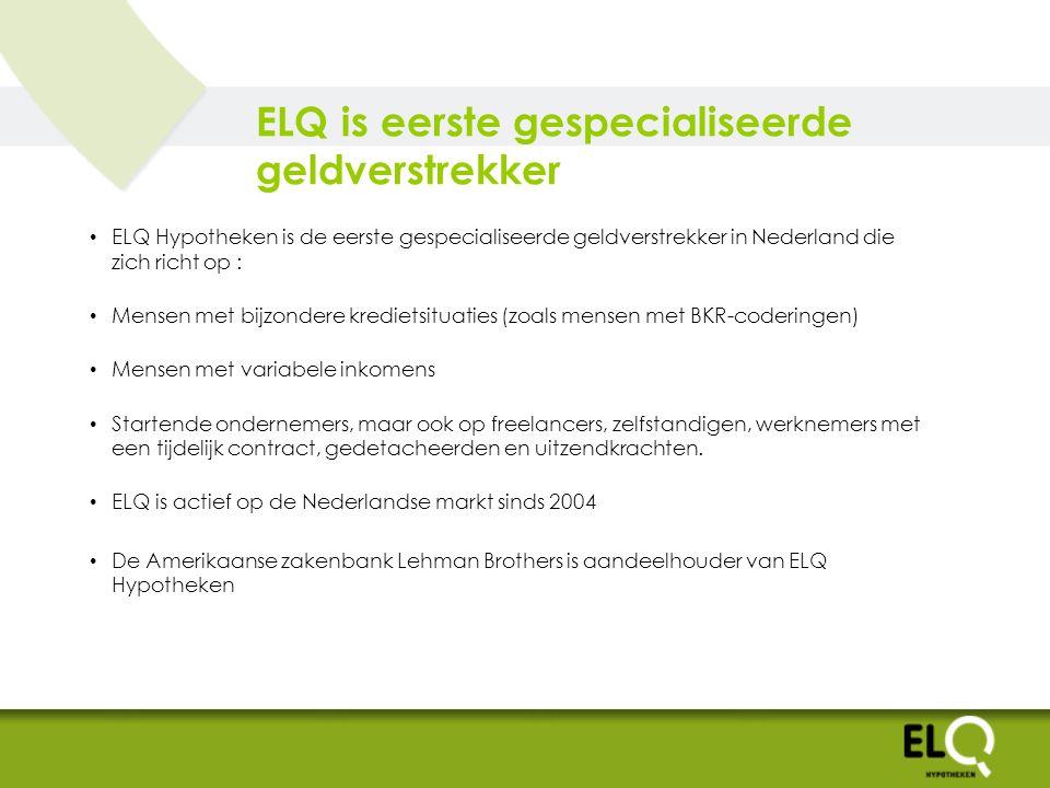 Bewegelijke hypotheekmarkt Aanscherping wet en regelgeving omtrent o.a.
