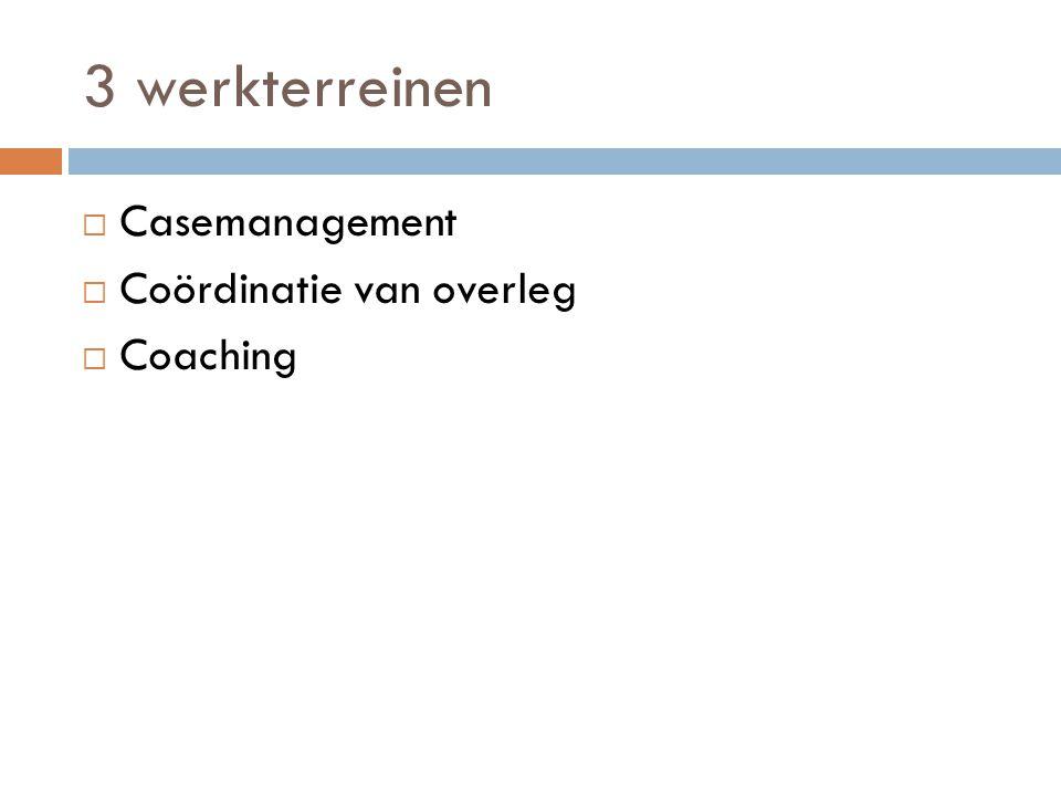 1.Casemanagement  Voor wie .