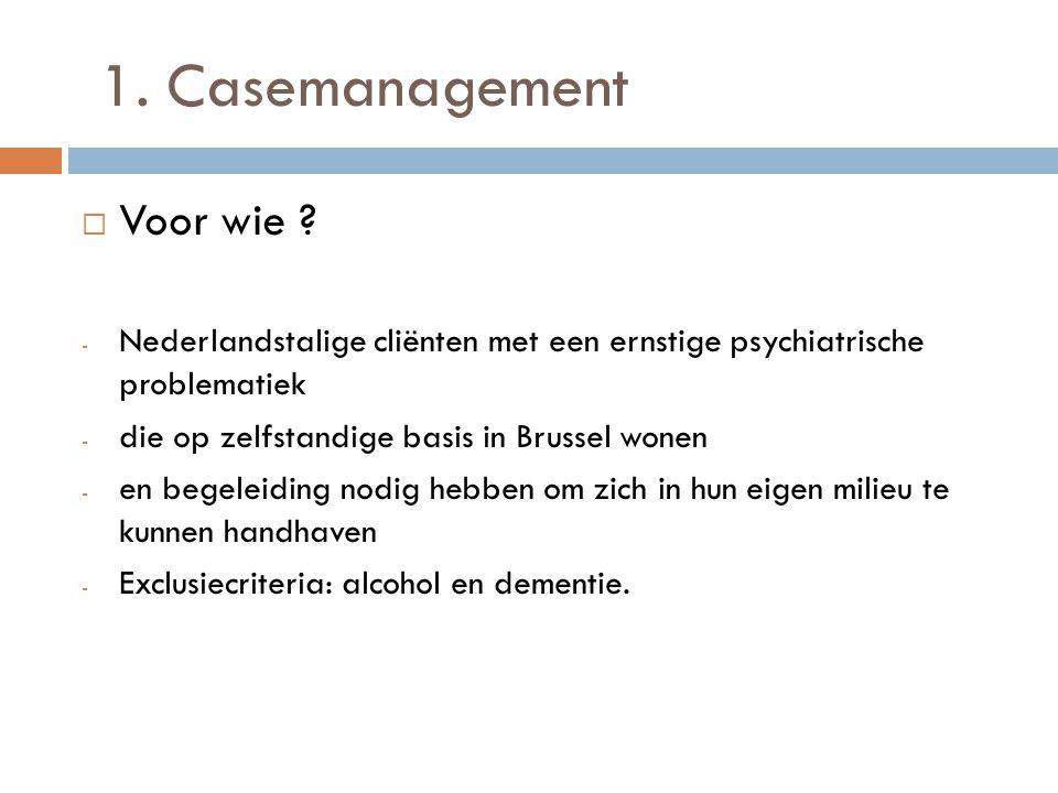 Casemanagement  Wat .