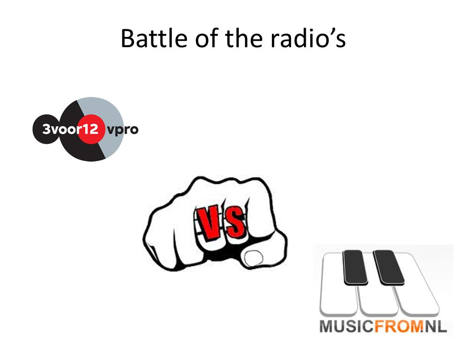 Battle of the radio's