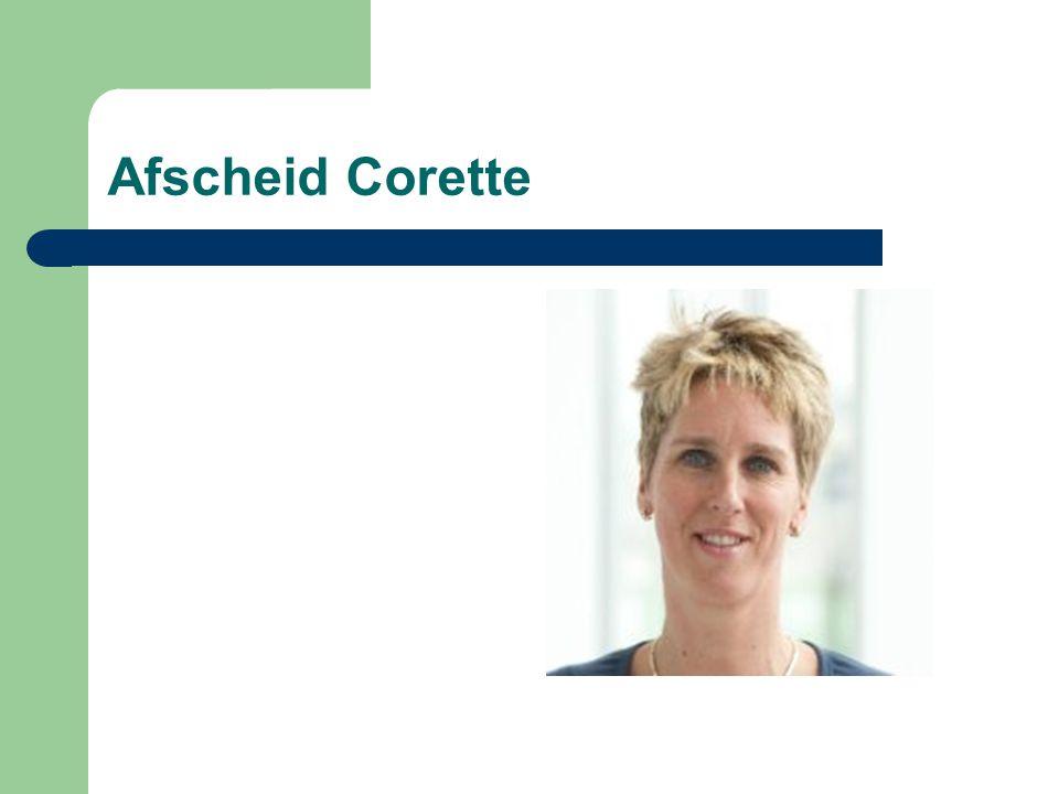 Afscheid Corette