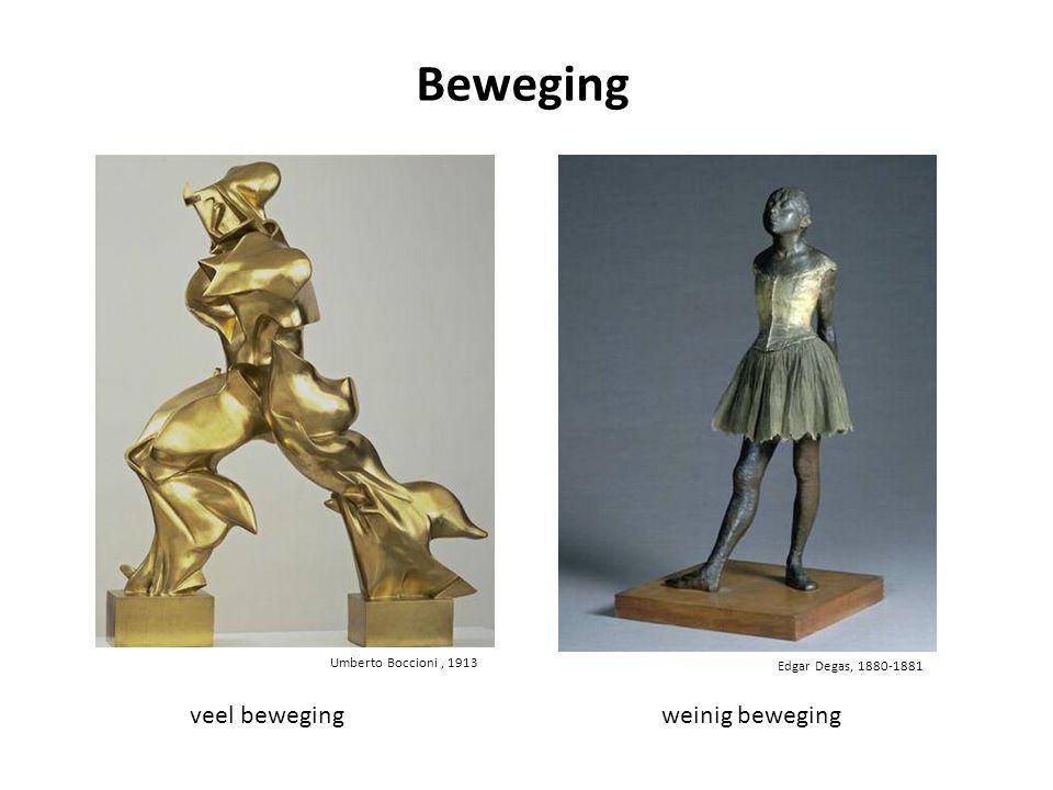 Umberto Boccioni, 1913 veel bewegingweinig beweging Beweging Edgar Degas, 1880-1881