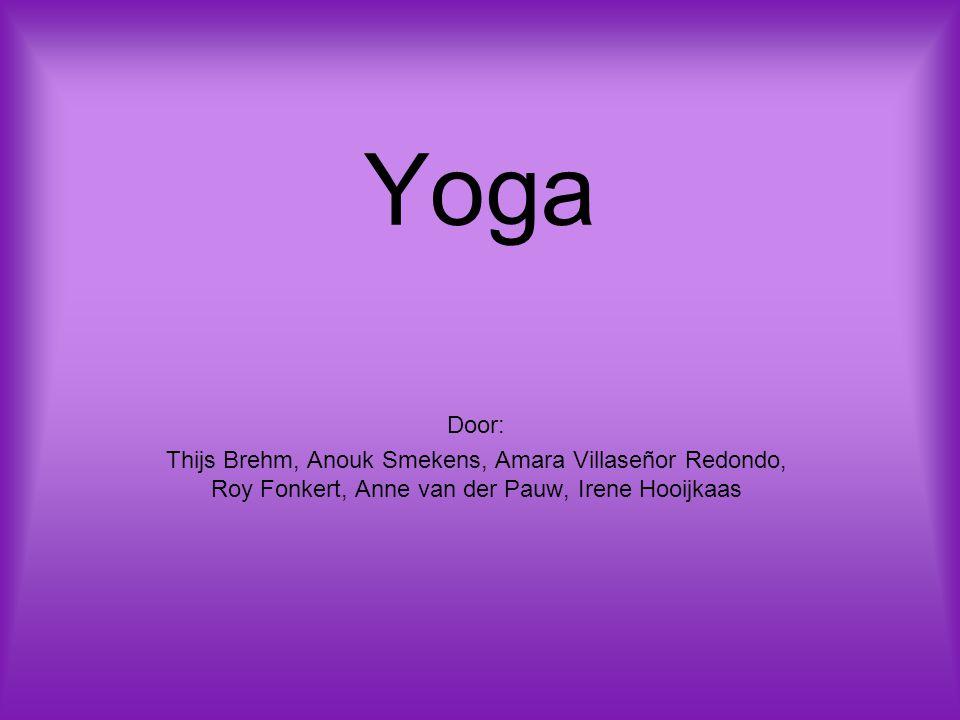 Yoga Door: Thijs Brehm, Anouk Smekens, Amara Villaseñor Redondo, Roy Fonkert, Anne van der Pauw, Irene Hooijkaas