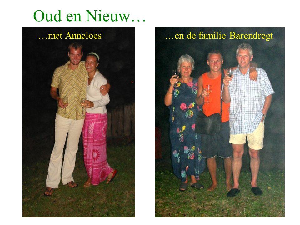 Oud en Nieuw… …en de familie Barendregt…met Anneloes