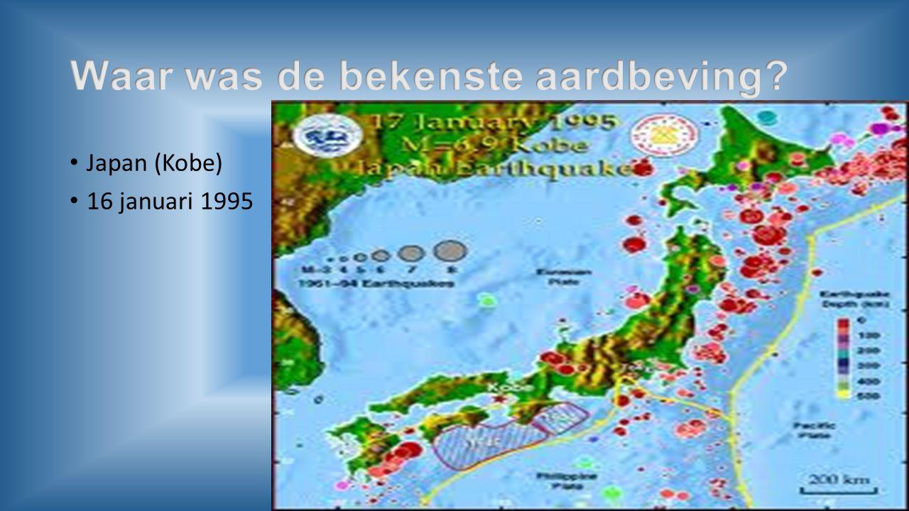 Zeebevingen. Ontaat vloedgolf (tsunami)Zeebeving
