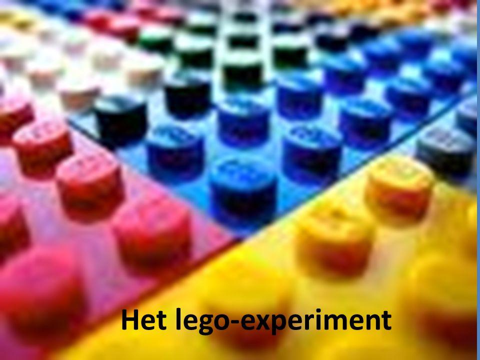 Het lego-experiment