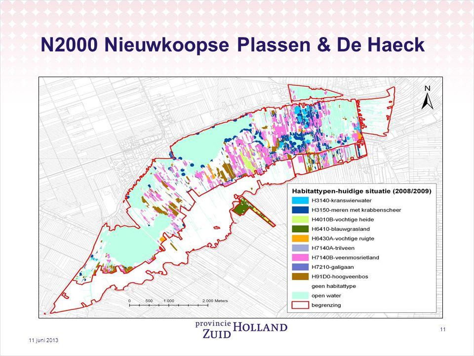11 juni 2013 11 N2000 Nieuwkoopse Plassen & De Haeck