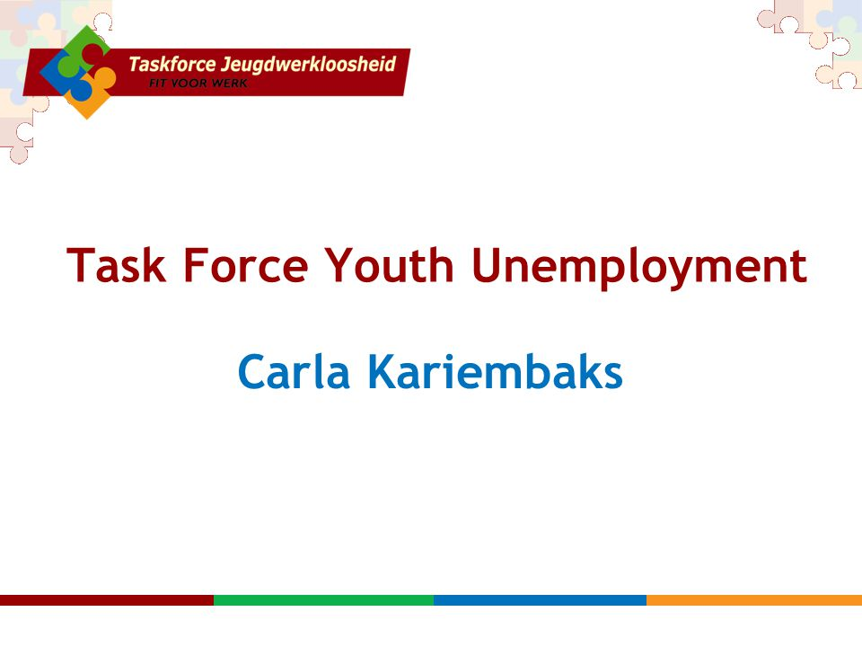 Task Force Youth Unemployment Carla Kariembaks